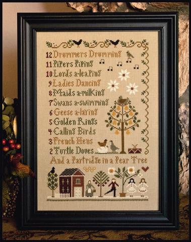 Little House Needleworks ~ 12 Days of Christmas