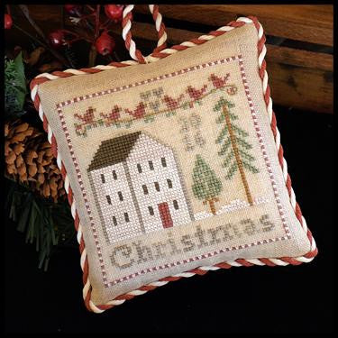 Little House Needleworks ~ 2016 Christmas Ornament