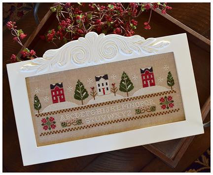 Little House Needleworks ~ Three Snowy Hills
