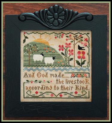 Little House Needleworks ~ Sixth Day of Creation