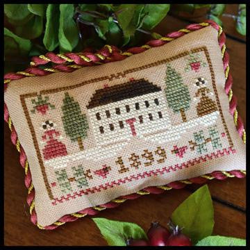 Little House Needleworks ~ The Sampler Tree ~ Christmas in the Country