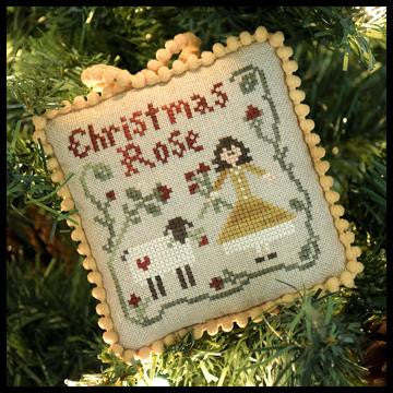 Little House ~ The Sampler Tree ~ Christmas Rose