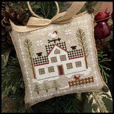 Little House Needleworks ~ Farmhouse Christmas #7 Cock-a-doodle-do