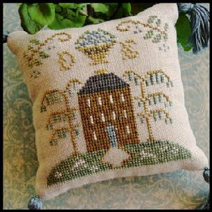 Little House Needleworks ~ ABC Samplers #2 DE