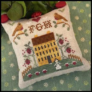 Little House Needleworks ~ ABC Samplers #3 FGH