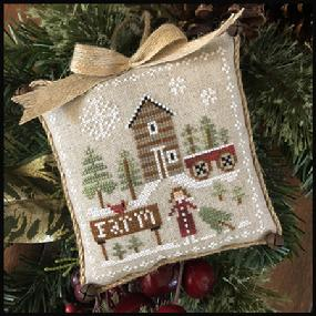Little House Needleworks ~ Farmhouse Christmas #6 Pinewood Farm