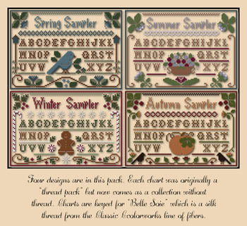Little House ~ Seasons Samplers