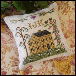 Little House Needleworks ~ ABC Samplers #4 IJK