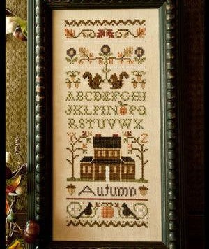 Little House Needleworks ~ Autumn Band Sampler