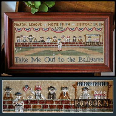 Little House Needleworks ~ Take Me Out To The Ballgame