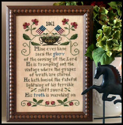 Little House Needleworks ~ Battle Hymn of the Republic