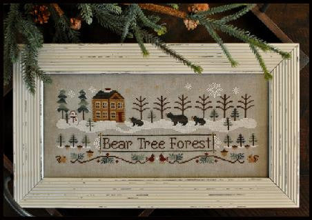 Little House Needleworks ~ Bear Tree Forest