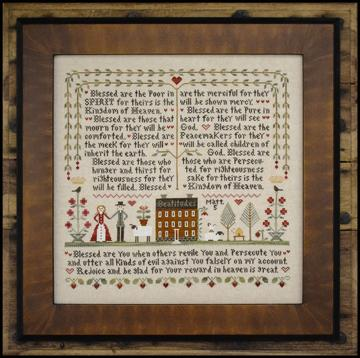 Little House Needleworks ~ The Beatitudes
