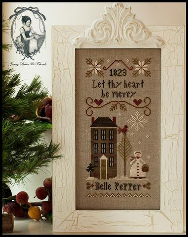 Little House Needleworks ~ Be Merry - Belle Pepper
