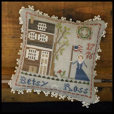 Little House Needleworks ~ The Early Americans ~ Betsy Ross (#1 of 9)