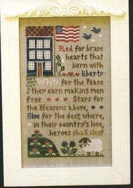 Little House Needleworks ~ Brave Hearts