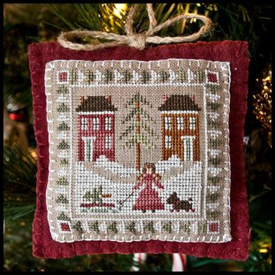 Little House Needleworks ~ Bringing Home The Tree