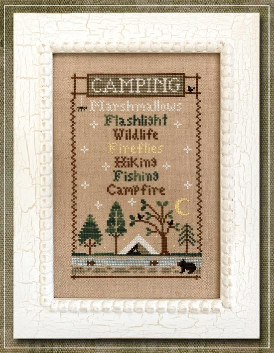 Country Cottage Needleworks ~ Camping Trip