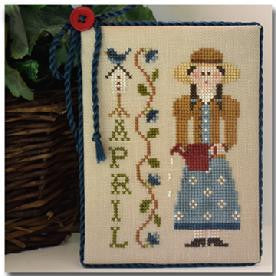Little House Needleworks ~ Calendar Girls April