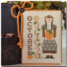 Little House Needleworks ~ Calendar Girls October