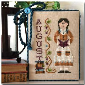 Little House Needleworks ~ Calendar Girls August