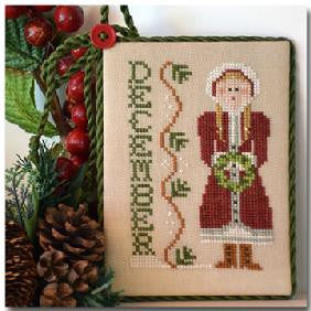 Little House Needleworks ~ Calendar Girls December