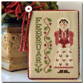 Little House Needleworks ~ Calendar Girls February