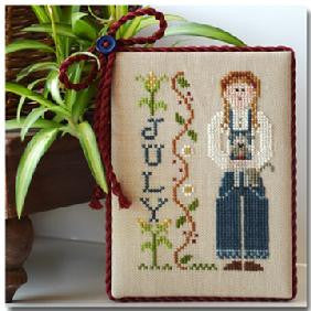 Little House Needleworks ~ Calendar Girls July