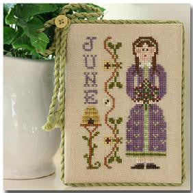 Little House Needleworks ~ Calendar Girls June