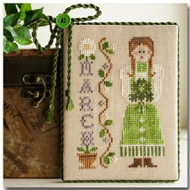 Little House Needleworks ~ Calendar Girls March