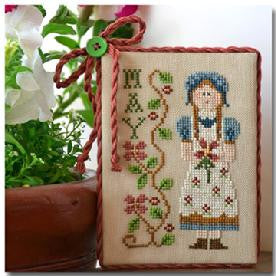 Little House Needleworks ~ Calendar Girls May