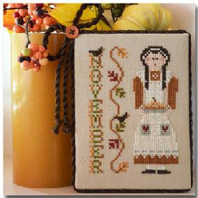 Little House Needleworks ~ Calendar Girls November