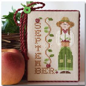 Little House Needleworks ~ Calendar Girls September