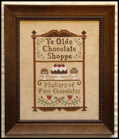 Little House Needleworks ~ Chocolate Shoppe