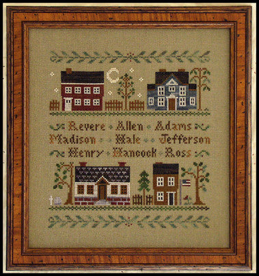 Little House Needleworks ~ Colonial Homes