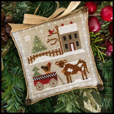 Little House Needleworks ~ Farmhouse Christmas #4 Dairy Darlin'