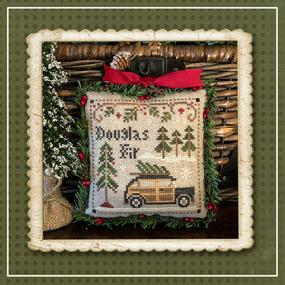 Little House Needleworks ~ Douglas Fir ~ #2 of Jack Frost's Tree Farm (Part 2 of 7)