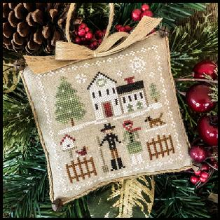 Little House Needleworks ~ Farmhouse Christmas #8 Farm Folk