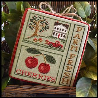 Little House Needleworks ~ Farm Fresh Cherries