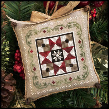 Little House Needleworks ~ Farmhouse Christmas #5 Grandma's Quilt
