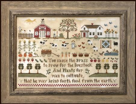 Little House Needleworks ~ Farm Life
