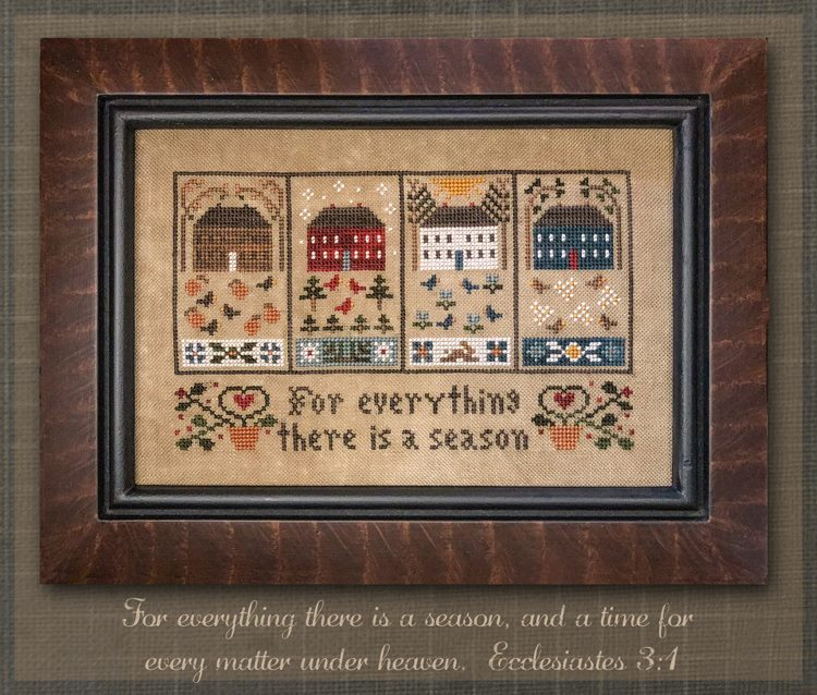 Little House Needleworks ~ Four Seasons