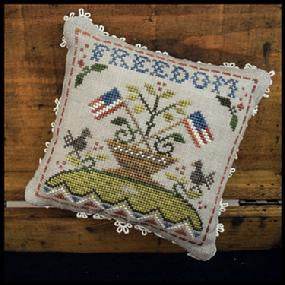Little House Needlworks ~ The Early Americans ~ Freedom (#5 of 9)
