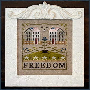 Little House Needleworks ~ Freedom House