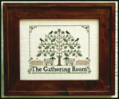 Little House Needleworks ~ The Gathering Room