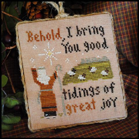 Little House Needleworks ~ Good Tidings