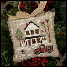 Little House Needleworks ~ Farmhouse Christmas #3 Grandpa's Pick-Up