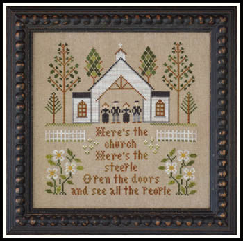 Little House Needleworks ~ Here's The Church