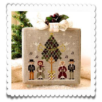 Little House Needleworks ~ Hometown Holiday Caroling Quartet