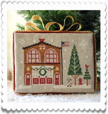 Little House Needleworks ~ Hometown Holiday The Firehouse